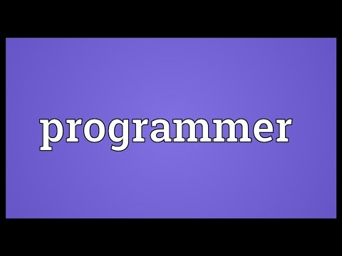 mp4 Programmer Meaning, download Programmer Meaning video klip Programmer Meaning