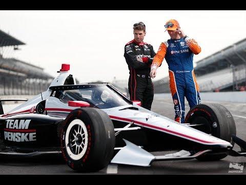 Dixon, Power break down IndyCar Aeroscreen test