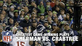 Richard Sherman vs. Michael Crabtree: The Swat Heard Around the World | 2013 NFC Championship Game