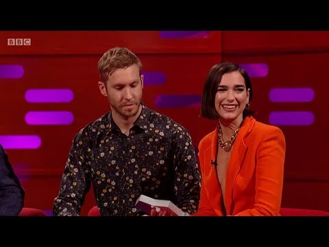 Calvin Harris & Dua Lipa – One Kiss (sample) + Interview On The Graham Norton Show. 2018 - ViVaHD