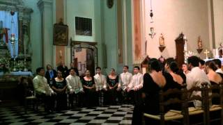 preview picture of video 'Philippines Madrigal Singers - The musician's prayer'