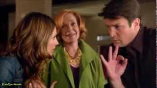 """Castle 6x14 """"Dressed To Kill"""" Beckett Martha wedding location plan (HD)"""