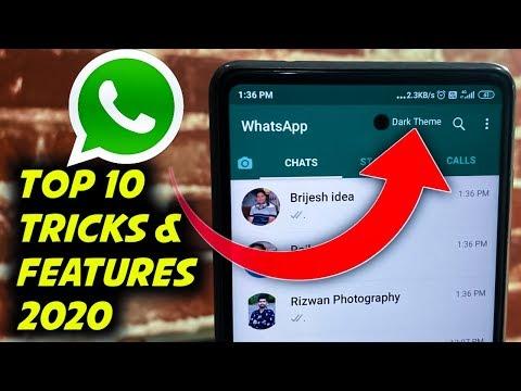 Top 10 Whatsapp Hidden Secret Tricks & Features 2020, Latest Whatsapp Hidden Tricks 2020 , DK Tech