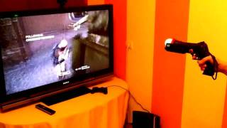 Uzi Gun PS3 move & navigator