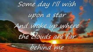 Aselin Debison - somewhere over the rainbow  Lyrics