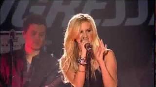 Crank it Up + Hot Mess - Ashley Tisdale [Live] Progressive Skating & Gymnastics Spectacular 2009 HD