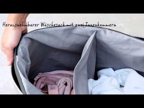 Brabantia - Wäschebox Selector 55 Liter mit Kunststoffdeckel
