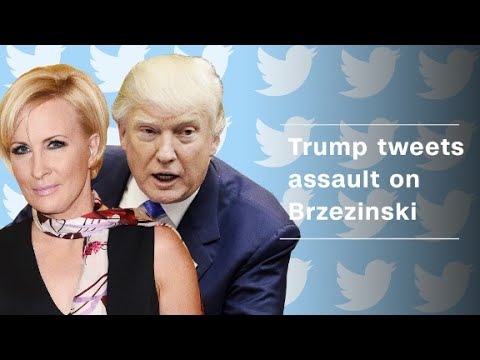 Trump tweets insults at MSNBC's Mika Brzezinski