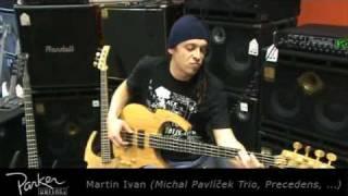 Video PARKER BASSGUITARS presents: Martin Ivan