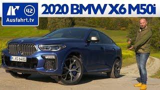 2020 BMW X6 M50i (G06) - Kaufberatung, Test deutsch, Review, Fahrbericht Ausfahrt.tv