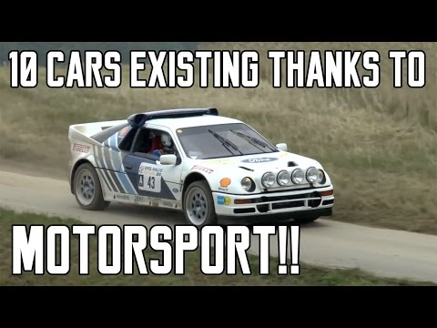 10 Road Cars That Exist Thanks To Motorsport | Ep. 1