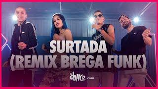 Surtada (Remix Brega Funk) - Dadá Boladão, Tati Zaqui Ft. OIK | FitDance TV (Coreografia Oficial)