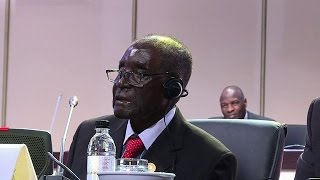 Mugabe Hits Out At ICC As AU Summit Ends