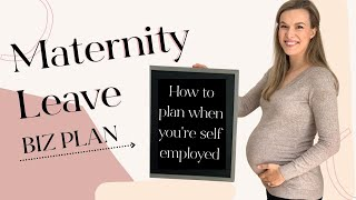 How To Plan for Maternity Leave As a Self Employed Creative