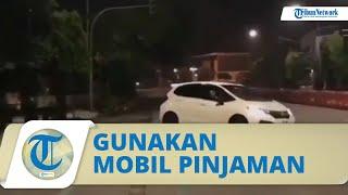 Viral Aksi Drift Honda Jazz di Jalanan Solo, Tenyata Mobil Pinjaman Hingga Terkena Pasal Berlapis