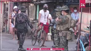Fresh lockdown for 250,000 in Manila as virus surges