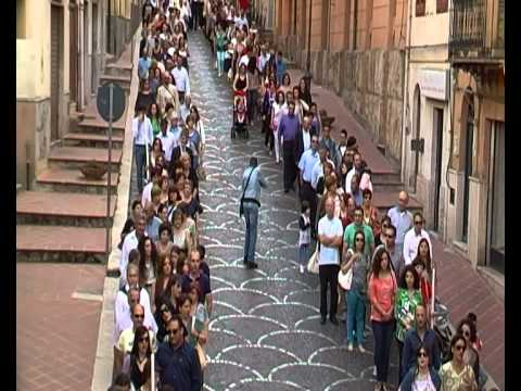 Processione Maria SS Delle Grazie,anno 2015
