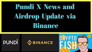 Pundi X News and Airdrop Update via Binance