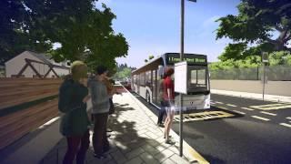 VideoImage1 Bus Simulator 16: Mercedes-Benz-Citaro DLC 2