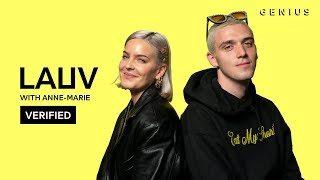 """Lauv & Anne Marie """"f*ck, I'm Lonely"""" Official Lyrics & Meaning 