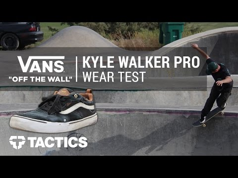 Vans Kyle Walker Pro Skate Shoes Wear Test Review - Tactics.com
