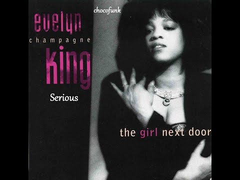 """""""Evelyn Champagne King""""  """"Serious"""" 1989"""