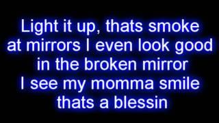 Lil Wayne ft. Bruno Mars - Mirror LYRICS