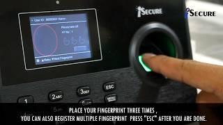 iSecure Biometrics (Basic Biometrics Implementation)