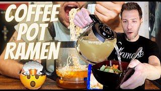 Coffee Pot Ramen | GoStoner Kitchen