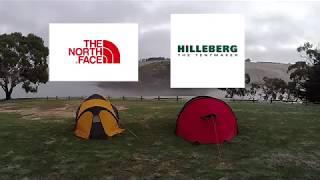 Hilleberg Nammatj 3GT Vs The North Face Mountain 25 Summit series