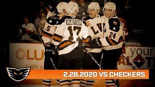 Checkers vs. Phantoms | Feb. 28, 2020