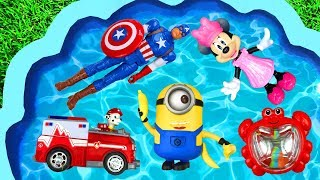 Learn Characters with Frozen, Paw Patrol, Pj Masks, Super Heroes and Toys