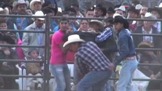 Tragica Muerte de Jinete ESTRELLA DE SEVINA Montando Al Rey Escorpion Iratzio Michoacan 2015