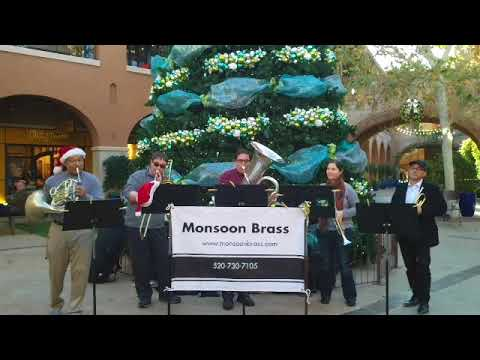 Betsy playing with Monsoon Brass