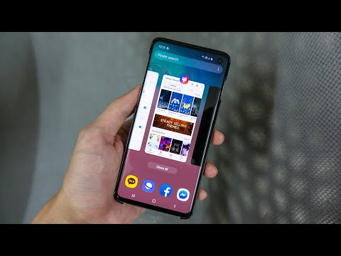 How to Popup / Split Screen on Samsung S10 (S10+, S10e, One UI) Compare to S7 Edge