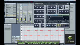 How to Create Trance Rolling Basslines