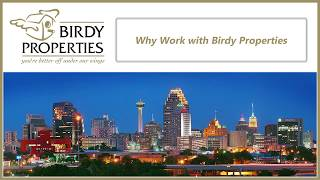 Why Work with Birdy Properties