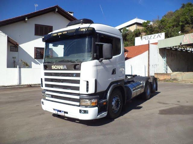 Vídeo do caminhão R420 6x2
