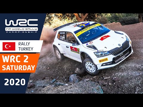 WRC2 ラリー・ターキー(トルコ)。土曜日のラリーの中から気になるシーンを集めたダイジェスト動画
