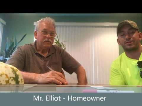 Coverall Construction Roofing testimonial from a homeowner in Clinton Township, Michigan.