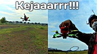 Serunya Drone Fpv Saling Kejar - Rc Quadcopter Freestyle