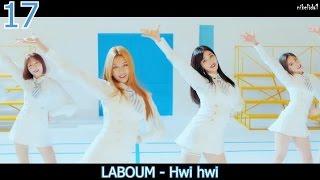 TOP 20 KOREAN SONGS (APRIL 23, 2017)