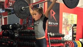 Strongest Kids Do Snatch, Clean and Jerk