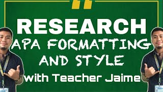 How To Use APA Format and Style in Research | APA Format | Research