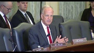 Sen. Moran Questions Transportation Secretary Chao
