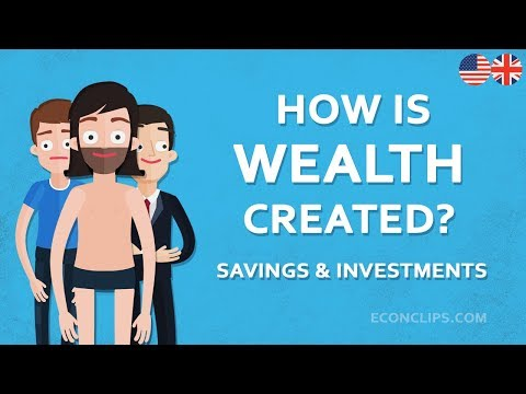 💰 How is Wealth Created | Savings and Investments