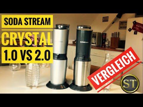 SodaStream Crystal 2.0 | Alt vs Neu | 1.0 vs 2.0