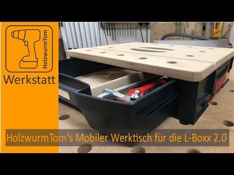HolzwurmTom's Mobiler Werktisch 2.0 - Der beste Werktisch für die L-Boxx