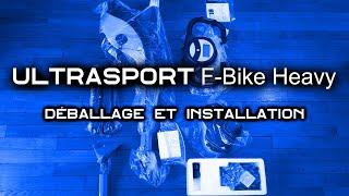 Ultrasport F-Bike Heavy : Déballage et Installation