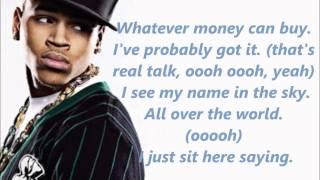 Chris Brown - Lucky Me lyrics.wmv